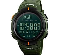 Недорогие -Муж. Спортивные часы Наручные часы электронные часы Японский Цифровой Bluetooth Будильник Календарь Секундомер Защита от влаги Пульт