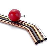 cheap -30OZ Metal Straw Colorful Aluminum Drinking Straws Food Grade Juicy Reusable Straws