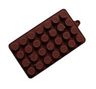 Недорогие -Формы для пирожных Шоколад силикагель Антипригарное покрытие Многофункциональные