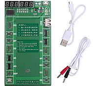 abordables -placa de carga de activación de la batería pofessional con cable micro usb para apple iphone 6 plus 5s 5 4s 4