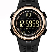 Муж. Детские Повседневные часы Модные часы электронные часы Китайский Цифровой Календарь Секундомер Светящийся Педометр силиконовый Группа