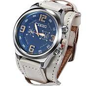 Men's Watch Boxes Casual Watch Sport Watch Fashion Watch Dress Watch Wrist watch Unique Creative Watch Chinese Quartz Calendar / date /