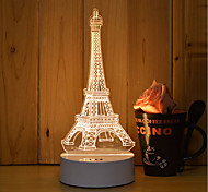 1 Set Of 3D Mood Night Light Hand Feeling Dimmable USB Powered Gift Lamp