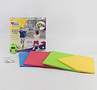 Fitness Toys Toys Pedometer Body Building Board Toys Square Sports Colorful Classic Kids 1 Pieces