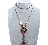 Жен. Ожерелья с подвесками Геометрической формы Резина Формальная На каждый день Милая Мода корейский Бижутерия Назначение Для вечеринок
