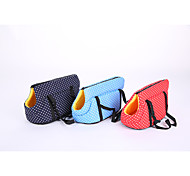 Dog Backpack Pet Carrier Portable Polka dots Blue Red Dark Blue