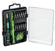 Teléfono móvil Kit de herramientas de reparación Magnetizado Destornillador Ventosa Plástico / acero Stianless Pry Herramientas de