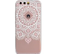 cheap -Case For Huawei P8 Lite (2017) P10 Lite Pattern Back Cover Lace Printing Soft TPU for Huawei P10 Lite Huawei P10 Huawei P8 Lite (2017)