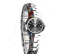Недорогие -Жен. Коробки для часов Повседневные часы Модные часы Нарядные часы Часы-браслет Наручные часы Уникальный творческий часы Имитационная