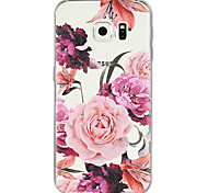 cheap -Case For Samsung Galaxy S8 Plus S8 Pattern Back Cover Flower Soft TPU for S8 Plus S8 S7 edge S7 S6 edge plus S6 edge S6