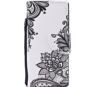 cheap -Case For Sony Sony Xperia XA Xperia XA1 Xperia E5 Card Holder Wallet with Stand Flip Pattern Full Body Cases Flower Hard PU Leather for