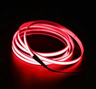 Недорогие -brlong 5m el led неоновый холодный свет полосы - автомобильное зарядное устройство