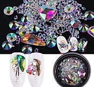 Недорогие -Орнаменты Украшенный драгоценностями Блестящие Блестки и пайетки Микс Как рисунок (цвет может варьироваться от монитора) Бижутерия