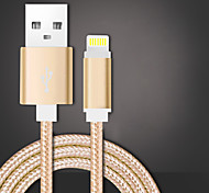 Недорогие -USB 2.0 Плетение Кабели Назначение Huawei Sony LG Lenovo Xiaomi 100 cm Нейлон