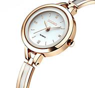 Недорогие -Жен. Повседневные часы Модные часы Китайский Кварцевый Секундомер Повседневные часы Нержавеющая сталь Группа На каждый день Elegant