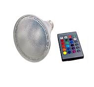 cheap -1set 10W 450-600lm PAR30 Growing Light Bulb 9 LED Beads Integrate LED Remote-Controlled LED Light RGB 85-265V