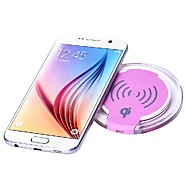 cheap -Qi Standard Wireless Charger for IPhone X 8 Samsung Galaxy S9 Plus S9 S8 Plus Note 8 Note 5 Or Built-in Qi Receiver Smart Phone