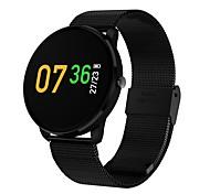 cheap -Smart Bracelet Built-in Bluetooth Calories Burned Touch Sensor Blood Pressure Measurement APP Control Pulse Tracker Pedometer Activity