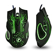 cheap -x9 Wired Gaming Mouse Gaming DPI Adjustable Backlit Programmable Novelty 2400