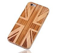abordables -Coque Pour iPhone 6s Plus iPhone 6 Plus Apple iPhone 6 Plus Antichoc Coque Drapeau Dur Bambou pour iPhone 6s Plus iPhone 6 Plus