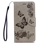 cheap -Case For Google Pixel XL Pixel Card Holder Wallet with Stand Flip Embossed Full Body Cases Butterfly Hard PU Leather for Google Pixel XL