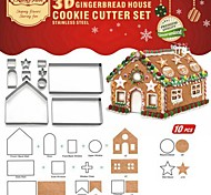 cheap -Pie Tools For Cookie Stainless Steel + A Grade ABS Christmas