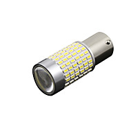 cheap -2Pcs 3014 144 SMD LED P21W TFL DRL Daylight Tagfahrlicht BA15S 1156 Xenon Wei