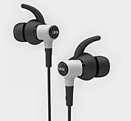 Недорогие -uiisii hi-710 проводные наушники для ушей с водонепроницаемым ушным типом универсального тяжелого баса с шумоподавлением