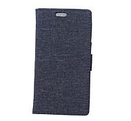 Кейс для Назначение Nokia Lumia 540 Кошелек Бумажник для карт Флип Чехол Сплошной цвет Твердый Искусственная кожа для Nokia 8 Nokia 6