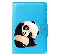 Недорогие -универсальный чехол для подставки для кожи panda pu для 7-дюймового 8-дюймового 9-дюймового планшета с 10-дюймовым планшетом