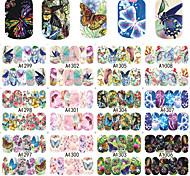 Недорогие -1 Животный дизайн Наклейка для ногтей 1 # Украшение для дизайна ногтей