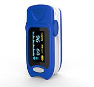 Недорогие -точный fs20a oled кончик пальца пульс оксиметр оксиметрия кровь кислород насыщенность монитор с батареями синий цвет