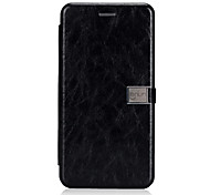 cheap -Case For Huawei Mate 10 lite Card Holder Flip Magnetic Full Body Solid Color Hard PU Leather for Huawei Mate 10 lite