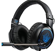 cheap -SADES R5 Headband Wired Headphones Dynamic Plastic Gaming Earphone with Microphone Headset