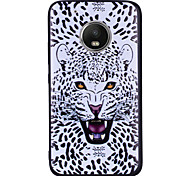 cheap -Case For Motorola MOTO G5 Plus MOTO G5 Pattern Back Cover Leopard Print Animal Soft Silicone for Moto G5 Plus Moto G5 Moto G4 Plus Moto