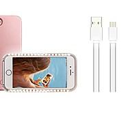 Недорогие -Кейс для Назначение Apple iPhone X iPhone 8 Plus LED Кейс на заднюю панель Рождество Мягкий ПК для iPhone X iPhone 8 Pluss iPhone 8