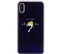 baratos -Capinha Para Apple iPhone X iPhone 8 IMD Estampada Capa traseira Mulher Sensual Macia TPU para iPhone X iPhone 8 Plus iPhone 8 iPhone 7