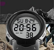 cheap -SKMEI Men's Digital Sport Watch Chinese Calendar / date / day Water Resistant / Water Proof Casual Watch Noctilucent Stopwatch PU Band