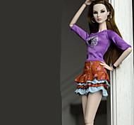 Недорогие -Нижняя часть Юбки Топы Юбки Топ Для Кукла Барби Regency Кофты Юбки Для Девичий игрушки куклы