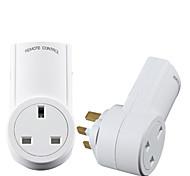 abordables -toma de corriente de control remoto inteligente controlador remoto rf estándar de Reino Unido para el enchufe de toma de corriente remoto