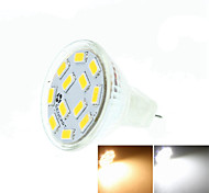 cheap -SENCART 5W 3500/6000/6500 lm GU4(MR11) LED Spotlight MR11 12 leds SMD 5730 Dimmable Decorative Warm White Cold White Natural White DC 24V