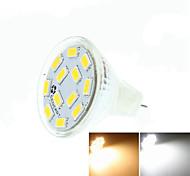 Недорогие -SENCART 5W 3500/6000/6500lm GU4(MR11) Точечное LED освещение MR11 12 Светодиодные бусины SMD 5730 Диммируемая / Декоративная Тёплый белый