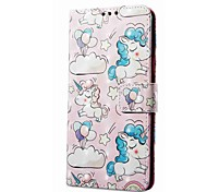 cheap -Case For Xiaomi Redmi Note 5A Redmi Note 4X Card Holder Wallet with Stand Flip Magnetic Pattern Animal Hard for