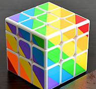 Недорогие -Кубик рубик YongJun Чужой Неравнодушный куб 3*3*3 Спидкуб Кубики-головоломки головоломка Куб профессиональный уровень Скорость Новый год