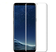cheap -Tempered Glass Screen Protector for Samsung Galaxy S8 Front Screen Protector High Definition (HD) 9H Hardness Scratch Proof 3D Curved edge