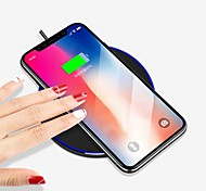 cheap -Wireless Charger USB Charger USB Wireless Charger / Qi 1 USB Port 1 A iPhone 8 Plus / iPhone 8 / S8