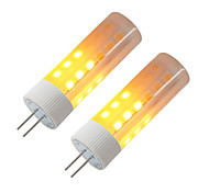 cheap -BRELONG® 2pcs 3W 230lm G4 LED Corn Lights 36 LED Beads SMD 2835 Flame Effect Warm White 12V