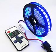 Недорогие -ZDM® 240 светодиоды Светодиодная лента 1M 1 пульт дистанционного управления Keys Тёплый белый Холодный белый Синий Можно резать