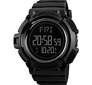 Недорогие -Муж. электронные часы Спортивные часы Наручные часы Японский Цифровой Будильник Секундомер Защита от влаги С двумя часовыми поясами
