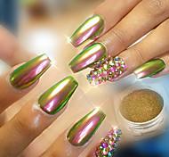 Недорогие -Гель для ногтей Порошок блеска порошок Роскошь Классика Зеркальный эффект Глянцевые Высокое качество Повседневные Дизайн ногтей